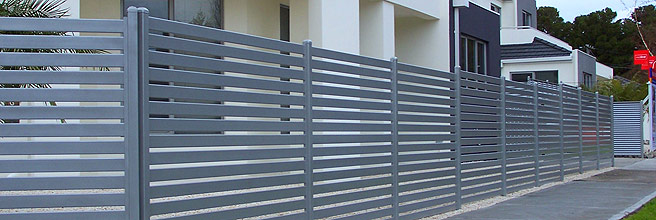Aluminium Privacy Fencing