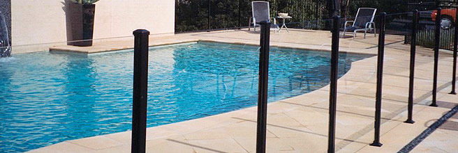 Cheap Glass Pool Fencing